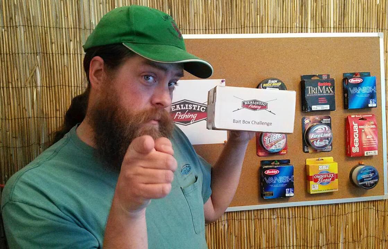 Realistic Fishing Bait Box Challenge