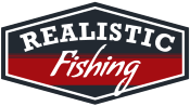 Realistic Fishing Logo