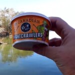 I Caught 91 FISH on ONE Pack of WORMS Nightcrawlers Catch Tons of Fish - Realistic Fishing